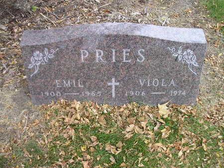 PRIES, EMIL - Bremer County, Iowa | EMIL PRIES