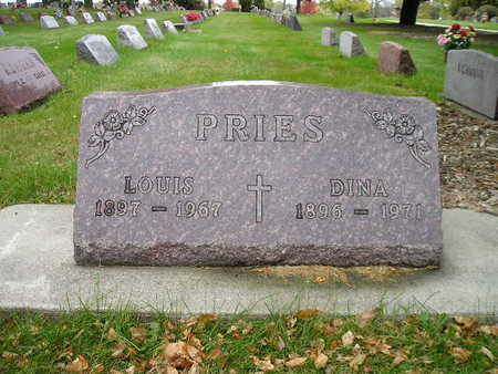 PRIES, LOUIS - Bremer County, Iowa | LOUIS PRIES