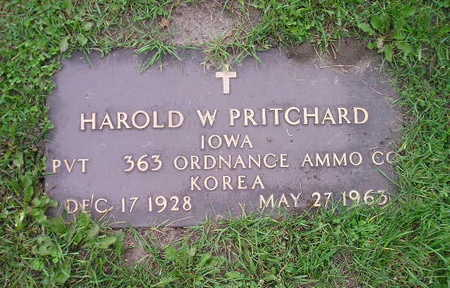 PRITCHARD, HAROLD W - Bremer County, Iowa | HAROLD W PRITCHARD