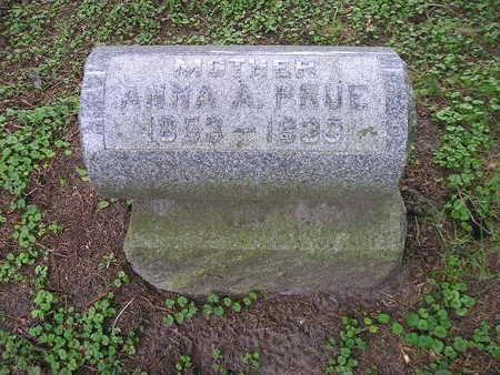 PRUE, ANNA A - Bremer County, Iowa | ANNA A PRUE