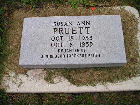 PRUETT, SUSAN ANN - Bremer County, Iowa | SUSAN ANN PRUETT
