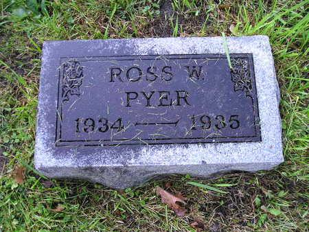 PYER, ROSS W - Bremer County, Iowa | ROSS W PYER