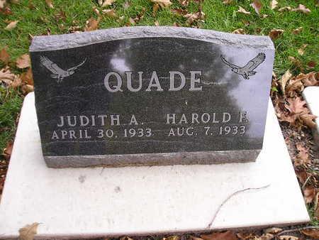 QUADE, HAROLD F - Bremer County, Iowa | HAROLD F QUADE