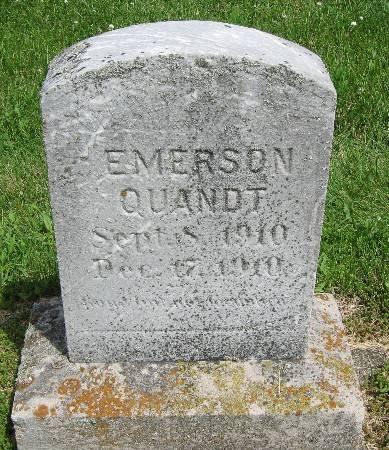 QUANDT, EMERSON - Bremer County, Iowa | EMERSON QUANDT