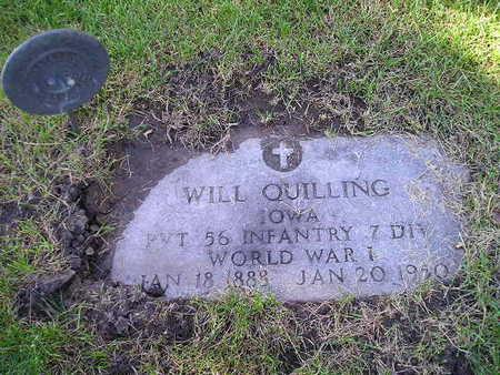 QUILLING, WILL - Bremer County, Iowa | WILL QUILLING
