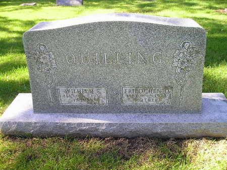 QUILLING, FRIEDCHEN - Bremer County, Iowa | FRIEDCHEN QUILLING