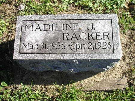 RACKER, MADILINE J - Bremer County, Iowa | MADILINE J RACKER