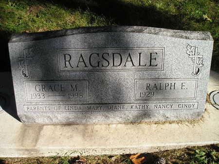 RAGSDALE, GRACE M - Bremer County, Iowa | GRACE M RAGSDALE