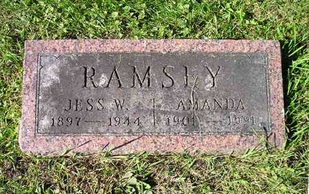 RAMSEY, JESS W - Bremer County, Iowa   JESS W RAMSEY