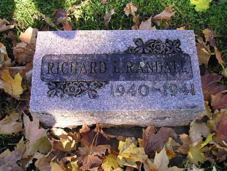 RANDALL, RICHARD L - Bremer County, Iowa | RICHARD L RANDALL