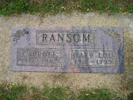 RANSOM, MARY LOU - Bremer County, Iowa | MARY LOU RANSOM