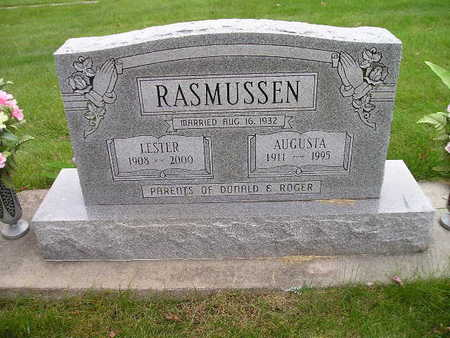 RASMUSSEN, LESTER - Bremer County, Iowa | LESTER RASMUSSEN
