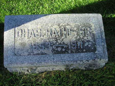 RATHE, CHAS SR - Bremer County, Iowa | CHAS SR RATHE