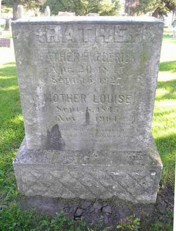 RATHE, LOUISE - Bremer County, Iowa | LOUISE RATHE