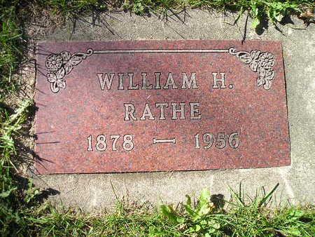 RATHE, WILLIAM H - Bremer County, Iowa   WILLIAM H RATHE