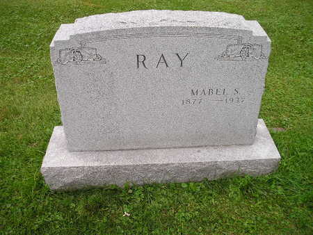 RAY, MABEL S - Bremer County, Iowa | MABEL S RAY