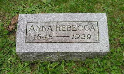 REBECCA, ANNA - Bremer County, Iowa | ANNA REBECCA