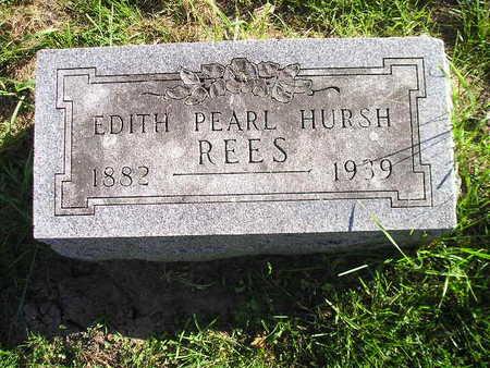 REES, EDITH PEARL - Bremer County, Iowa | EDITH PEARL REES