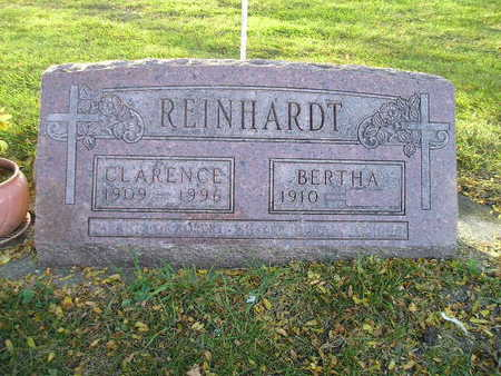 REINHARDT, BERTHA - Bremer County, Iowa | BERTHA REINHARDT