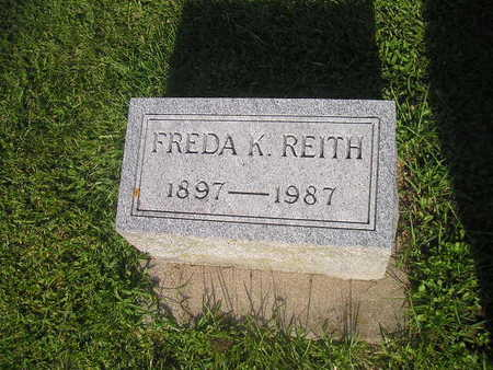 REITH, FREDA - Bremer County, Iowa | FREDA REITH