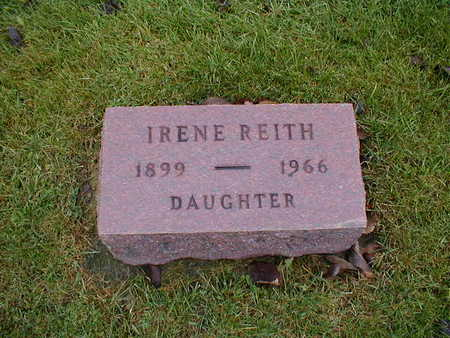 REITH, IRENE - Bremer County, Iowa   IRENE REITH
