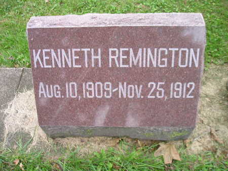 REMINGTON, KENNETH - Bremer County, Iowa | KENNETH REMINGTON