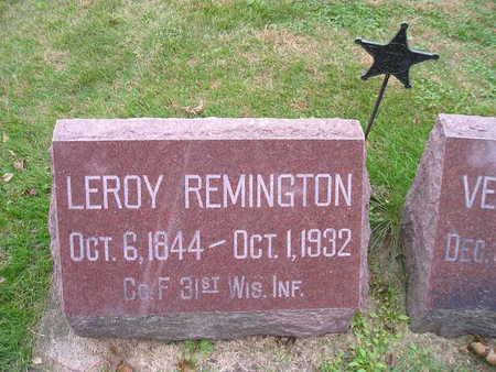 REMINGTON, LEROY - Bremer County, Iowa | LEROY REMINGTON