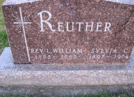 REUTHER, SYLVIA C - Bremer County, Iowa | SYLVIA C REUTHER