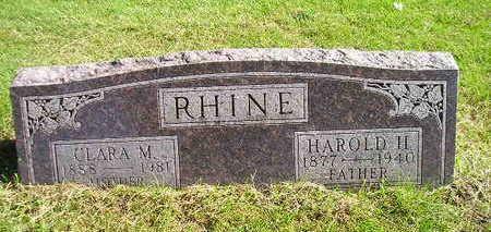 RHINE, HAROLD H - Bremer County, Iowa | HAROLD H RHINE