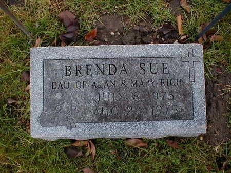 RICH, BRENDA SUE - Bremer County, Iowa | BRENDA SUE RICH