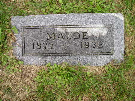 RICHARDS, MAUDE - Bremer County, Iowa | MAUDE RICHARDS