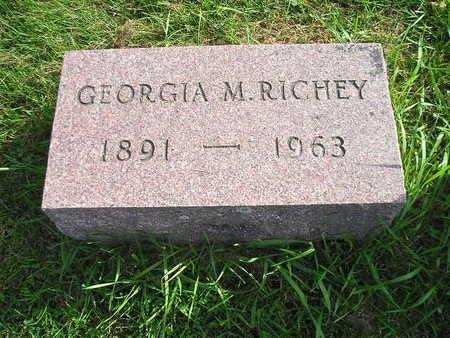 RICHEY, GEORGIA M - Bremer County, Iowa | GEORGIA M RICHEY