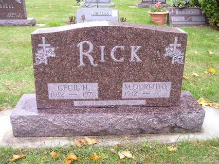 RICK, CECIL H - Bremer County, Iowa | CECIL H RICK