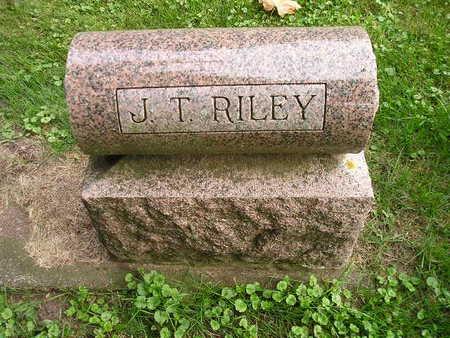 RILEY, J T - Bremer County, Iowa | J T RILEY