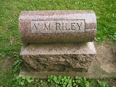 RILEY, V M - Bremer County, Iowa | V M RILEY