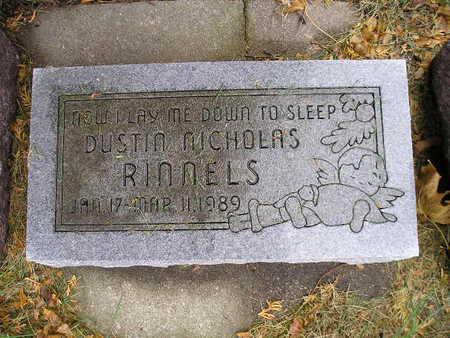 RINNELS, DUSTIN NICHOLAS - Bremer County, Iowa   DUSTIN NICHOLAS RINNELS