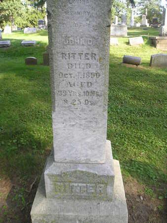 RITTER, JOHN O - Bremer County, Iowa | JOHN O RITTER
