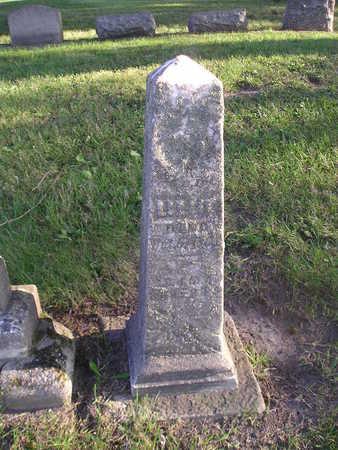 ROBERTS, LIZZIE - Bremer County, Iowa   LIZZIE ROBERTS