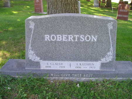ROBERTSON, I KATHRYN - Bremer County, Iowa | I KATHRYN ROBERTSON