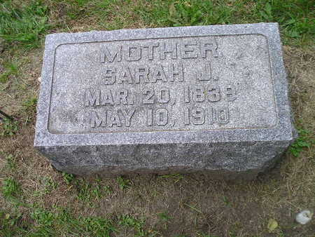 ROBINSON, SARAH J - Bremer County, Iowa | SARAH J ROBINSON