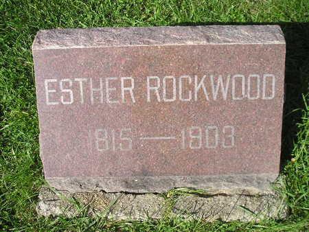 ROCKWOOD, ESTHER - Bremer County, Iowa | ESTHER ROCKWOOD