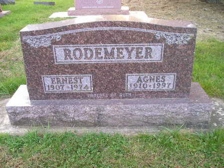 RODEMEYER, AGNES - Bremer County, Iowa | AGNES RODEMEYER