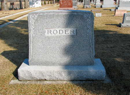 RODER, FAMILY - Bremer County, Iowa | FAMILY RODER