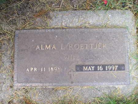 ROETTJER, ALMA L - Bremer County, Iowa | ALMA L ROETTJER