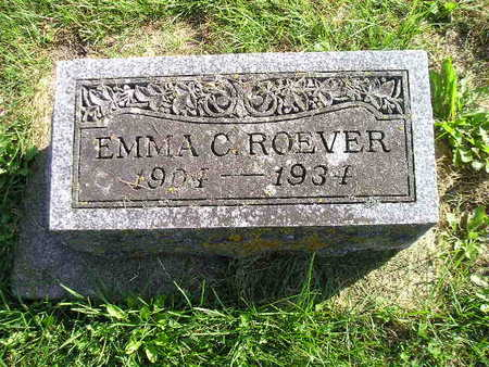 ROEVER, EMMA C - Bremer County, Iowa | EMMA C ROEVER