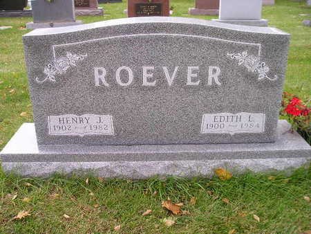 ROEVER, EDITH L - Bremer County, Iowa | EDITH L ROEVER