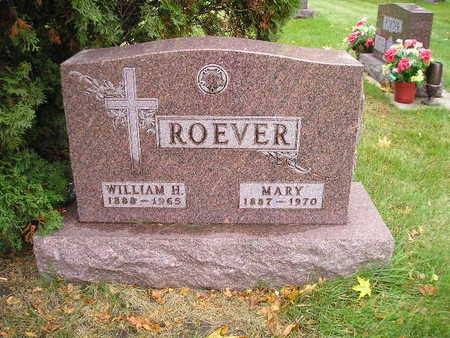 ROEVER, MARY - Bremer County, Iowa | MARY ROEVER