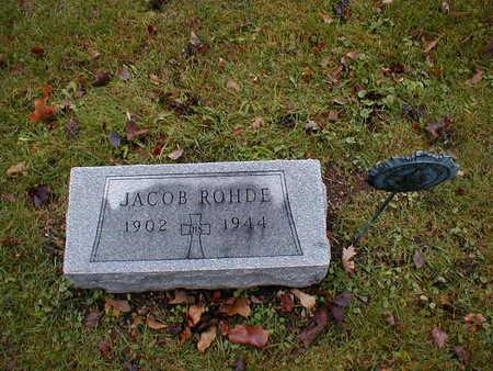 ROHDE, JACOB - Bremer County, Iowa | JACOB ROHDE