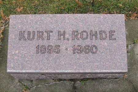 ROHDE, KURT H - Bremer County, Iowa | KURT H ROHDE