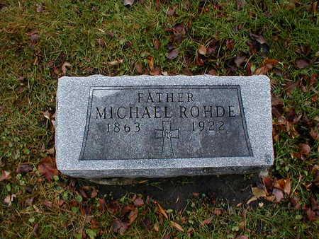 ROHDE, MICHAEL - Bremer County, Iowa | MICHAEL ROHDE